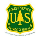 International Institute of Tropical Forestry USDA Forest Service